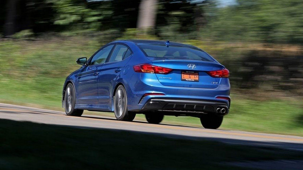 The 2018 Hyundai Elantra GT Sport Is a 201 HP Nurburgring