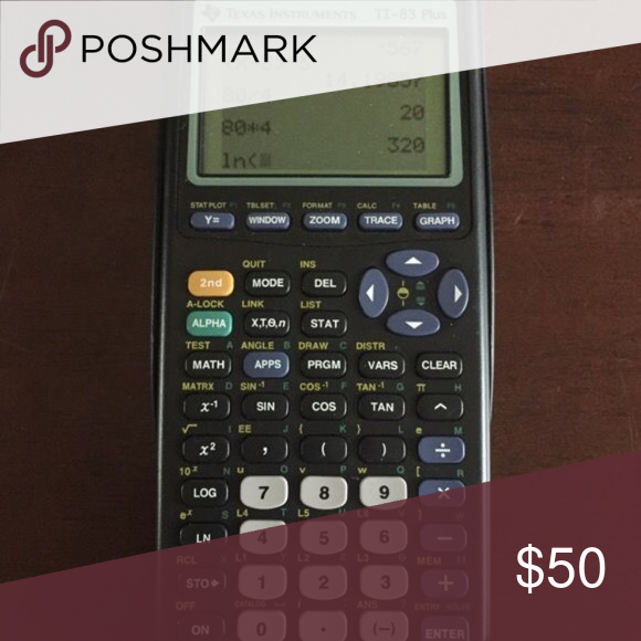 TI 83 Graphing Calculator Works Great Batteries Will Be Taken Out To Ship Accessories Numerologychart