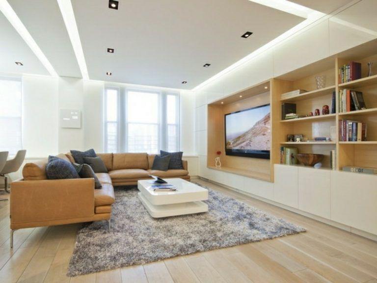 Moderne indireke beleuchtung im wohnzimmer for Moderne wohnzimmer beleuchtung