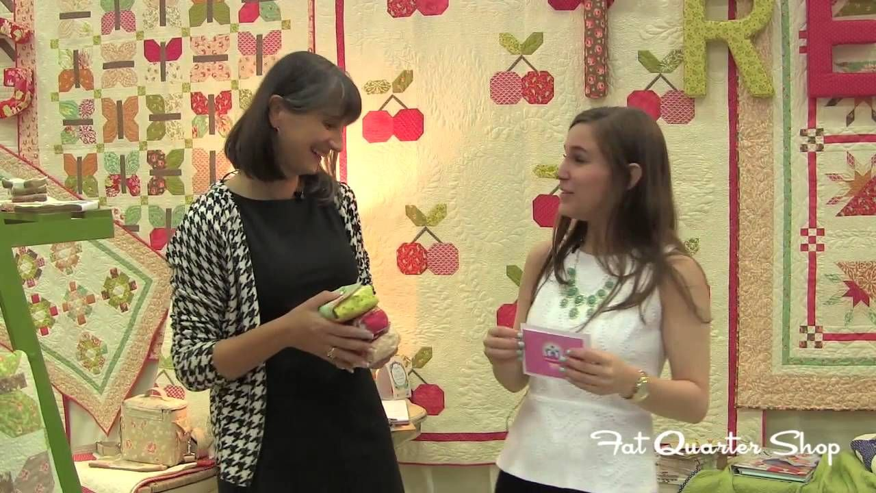 Joanna Figueroa of Fig Tree Quilts introduces Honeysweet - Spring Quilt Market 2013