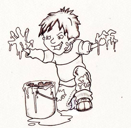 Illustration Of Horrid Henry By Chris Guest