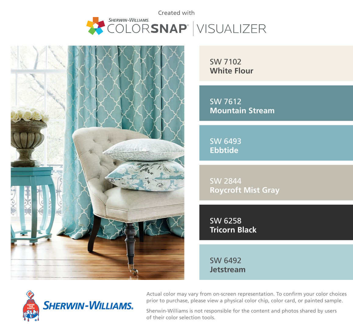 Sherwin williams paint colors sherwin williams 6249 storm cloud - I Found These Colors With Colorsnap Visualizer For Iphone By Sherwin Williams White