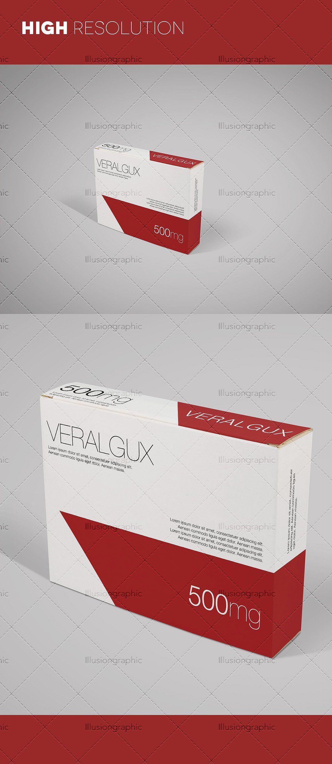 Download Photorealistic Medicine Box Mockups #stacked#box#mockups# ...