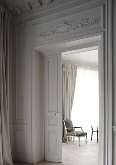 A Glimpse Beautiful Balmain Parisian Interior French Doors