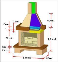 Como hacer una chimenea ideas arquitectura pinterest - Estructuras de chimeneas ...