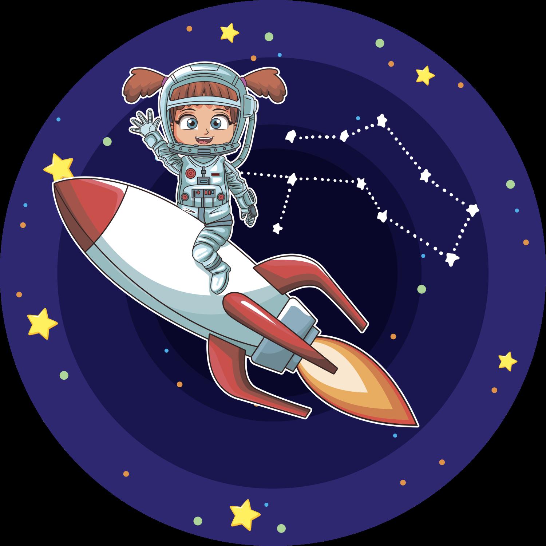 Двойные прозрачные, открытка летчику-космонавту