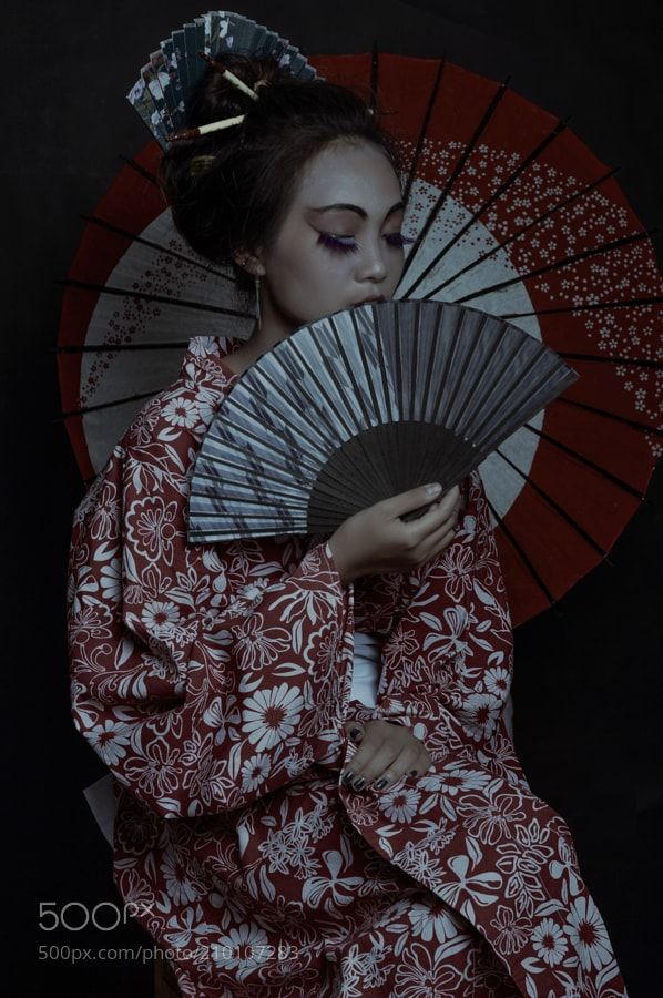 Shadow of Geisha by meoconpro99
