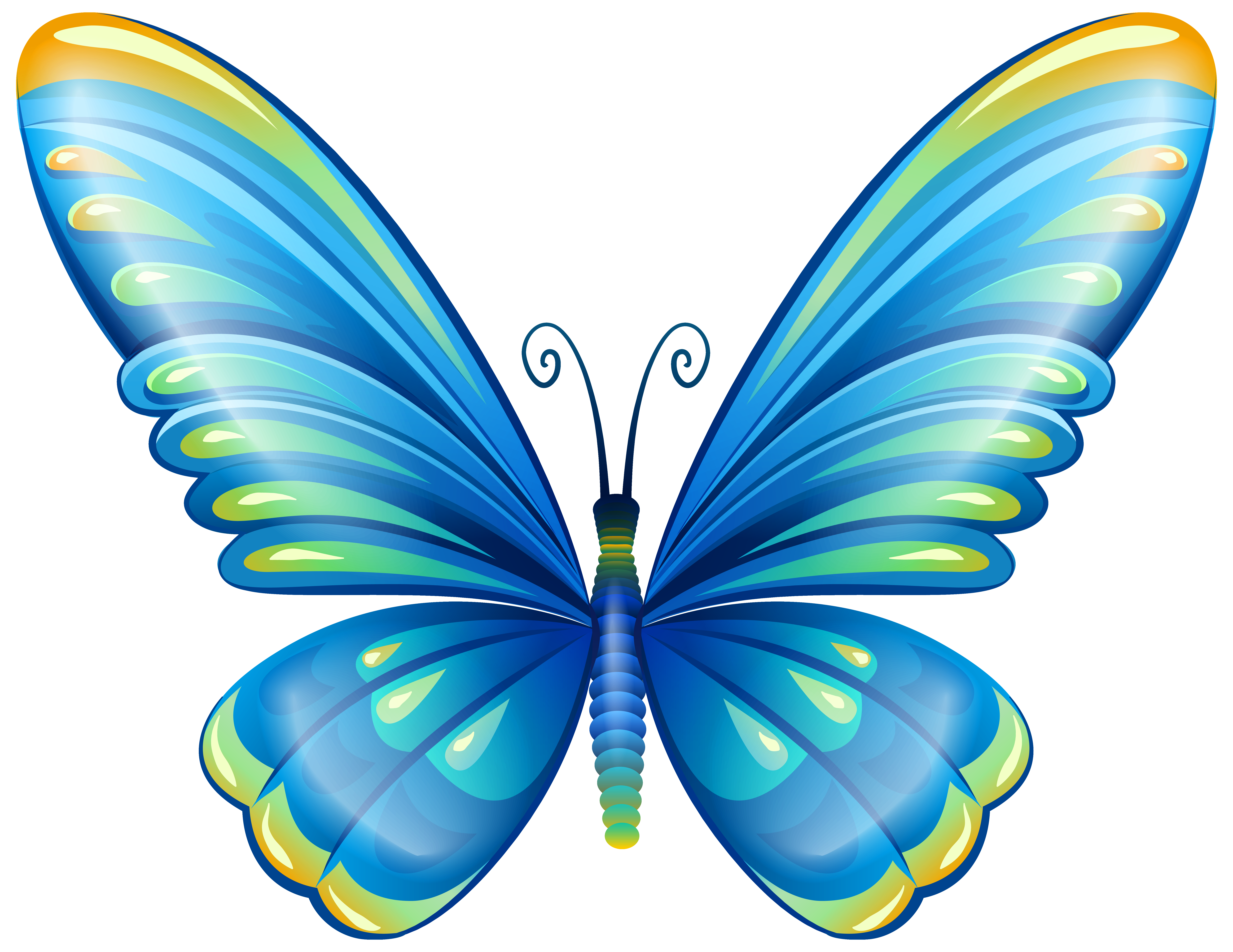 large art blue butterfly png clip art image butterfly s rh pinterest com butterflies clip art images butterflies clip art black and white