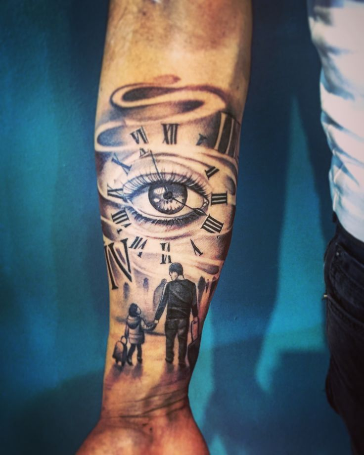 Vater und Tochter - Tattoo Muster | Tattoos for daughters