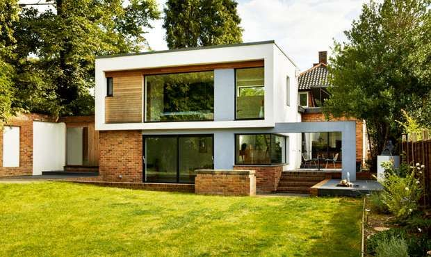 Modern Extension To 1920s Home Homebuilding Renovating Building A House Bungalow Extensions House Extension Design
