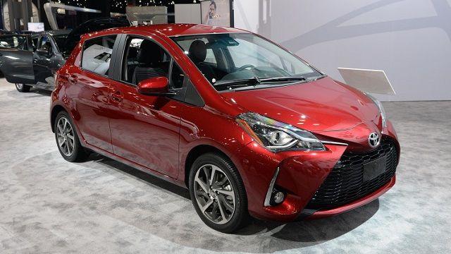 2018 Toyota Yaris Mit Bildern