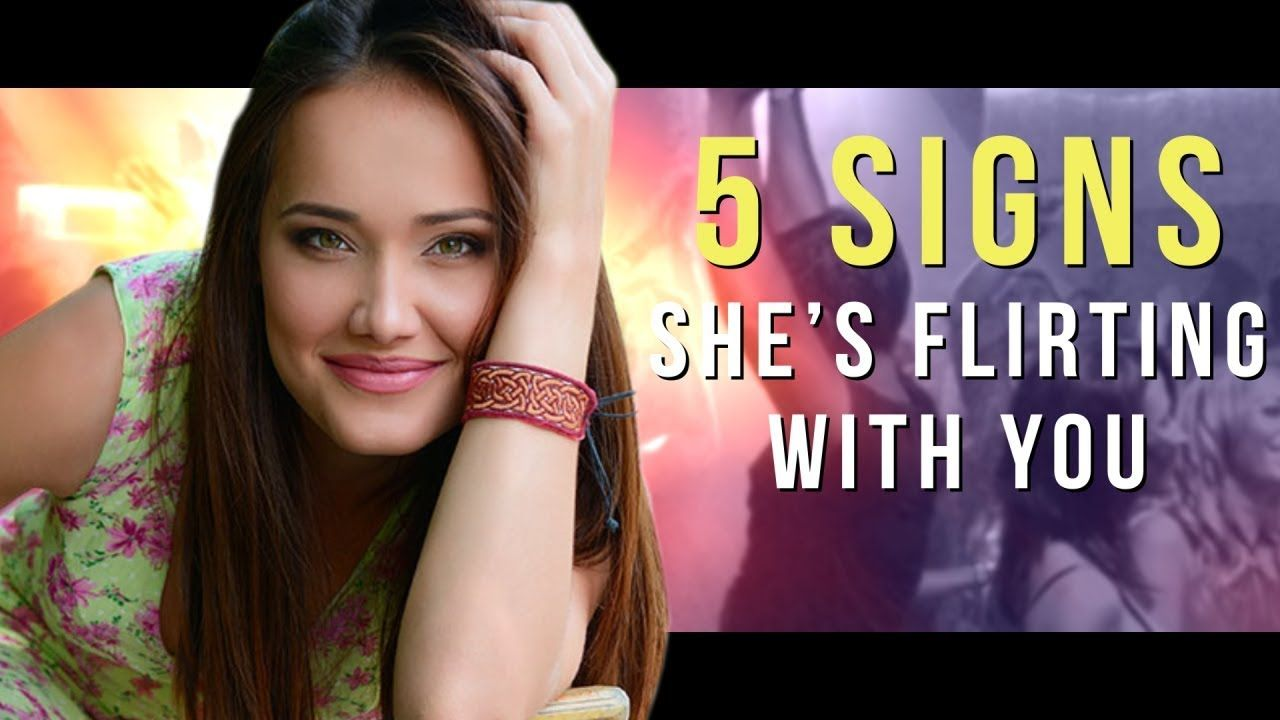 signs of flirting girl