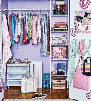 Lovely How To De Clutter Kidsu0027 Closets Great Ideas