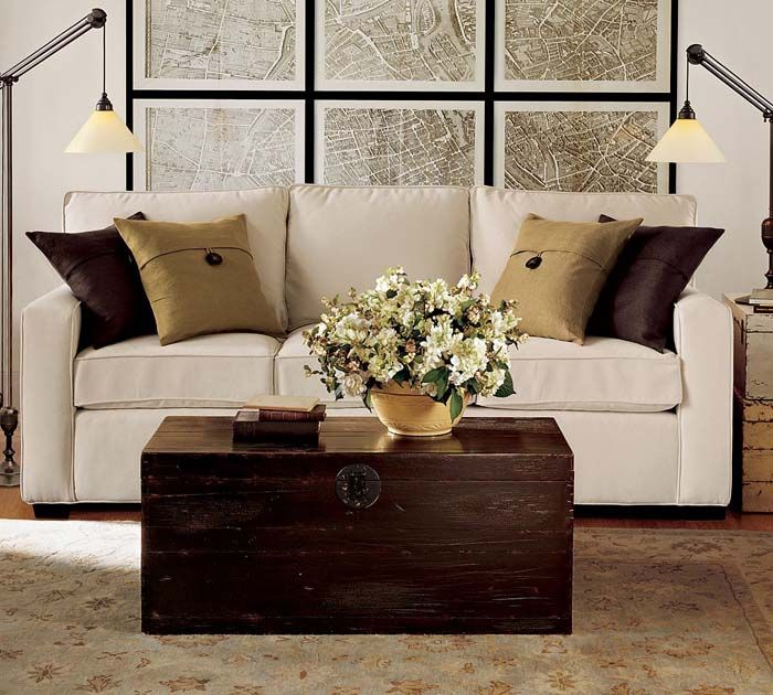 Living Room Sofa Design Ideas From Pottery Barn | Homey Designing