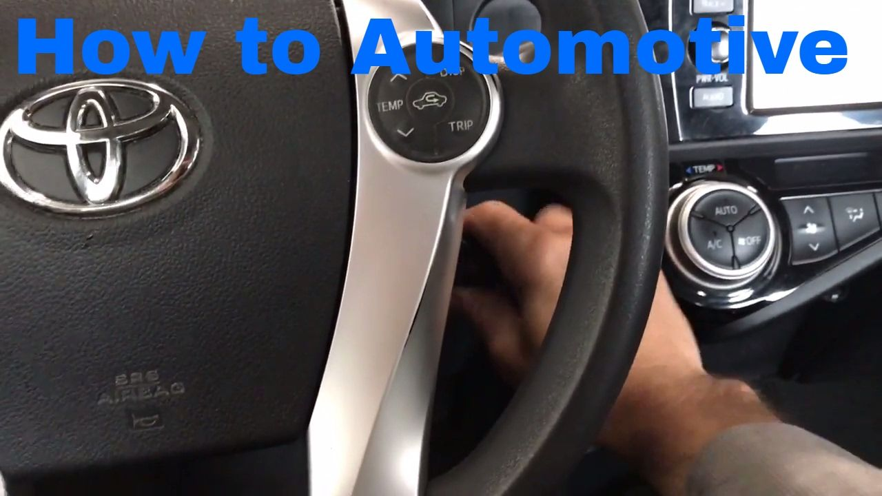 How to Reset the Maintenance Required Light on a 20152016