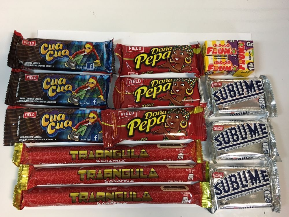 I Am Selling 15 Pieces Of Delicious Peruvian Chocolates Brought