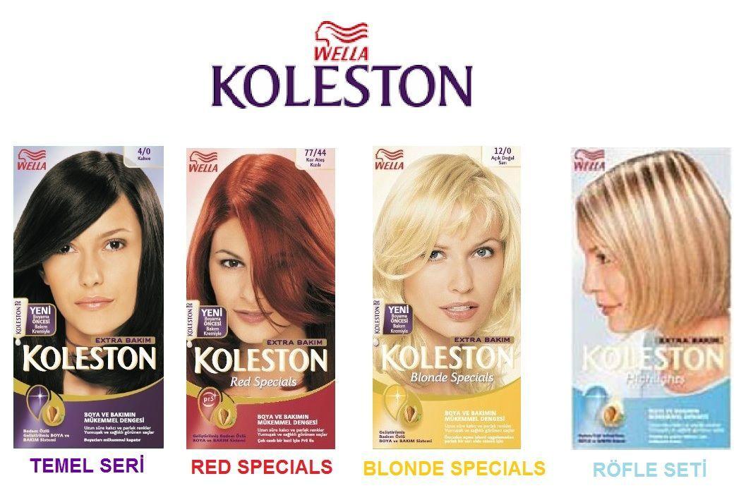 Wella Koleston Sac Boyalari Temel Seri Red Specials Blonde In 2020 Wella Koleston Wella Dyed Hair