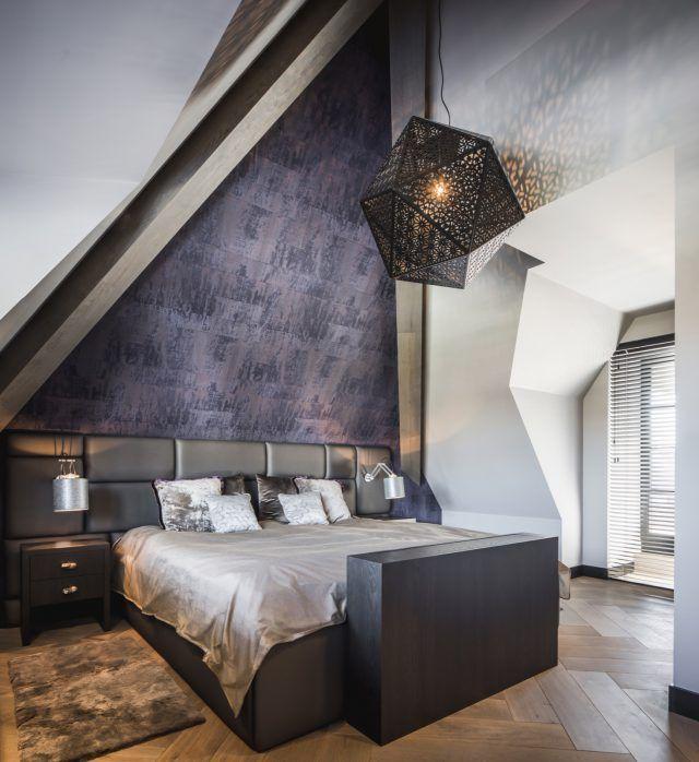 Luxe slaapkamer inrichting met design bed | slaapkamer design ...