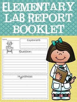 Lab Report Template Booklet  Labs Lucy Calkins And Template