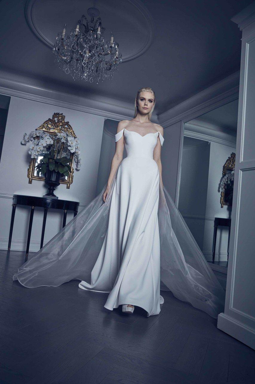 09df5534fbdcb Romona Keveža Bridal & Wedding Dress Collection Spring 2020 | Brides