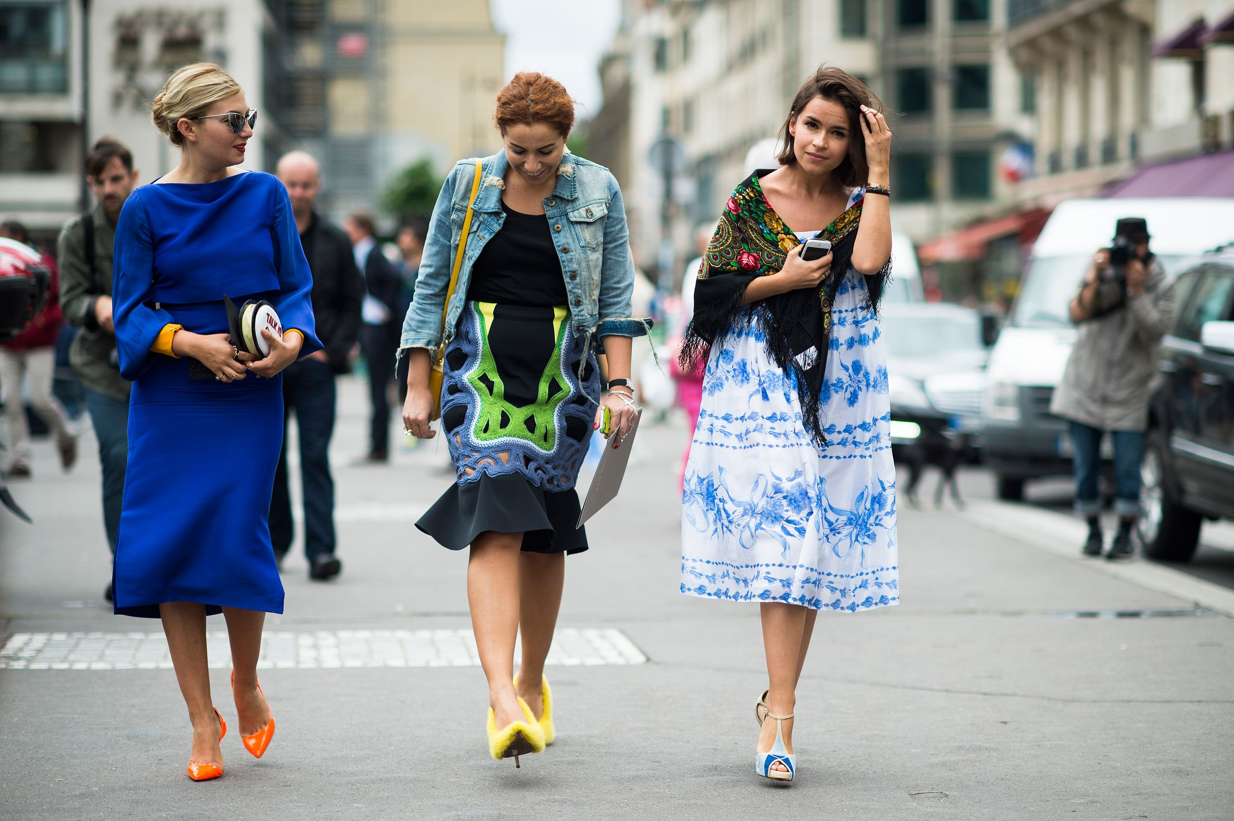 Paris Haute Couture Fall 2013 Street Style: Day 3. Photo by Adam Katz Sinding