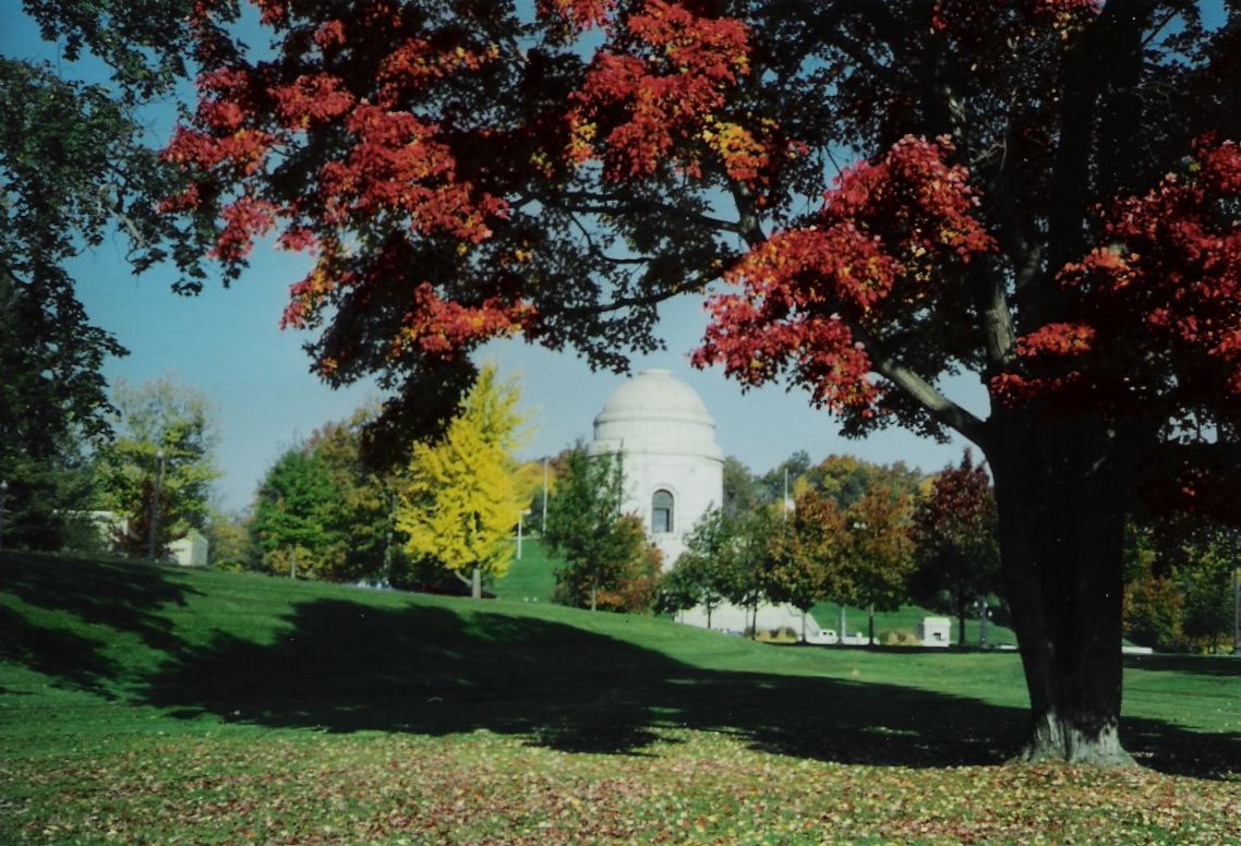 Our favorite tree in Autumn (gone now) Canton! Pinterest