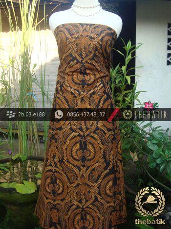 Kain Batik Cap Solo Motif Babon Angrem  Antik Batik Solo