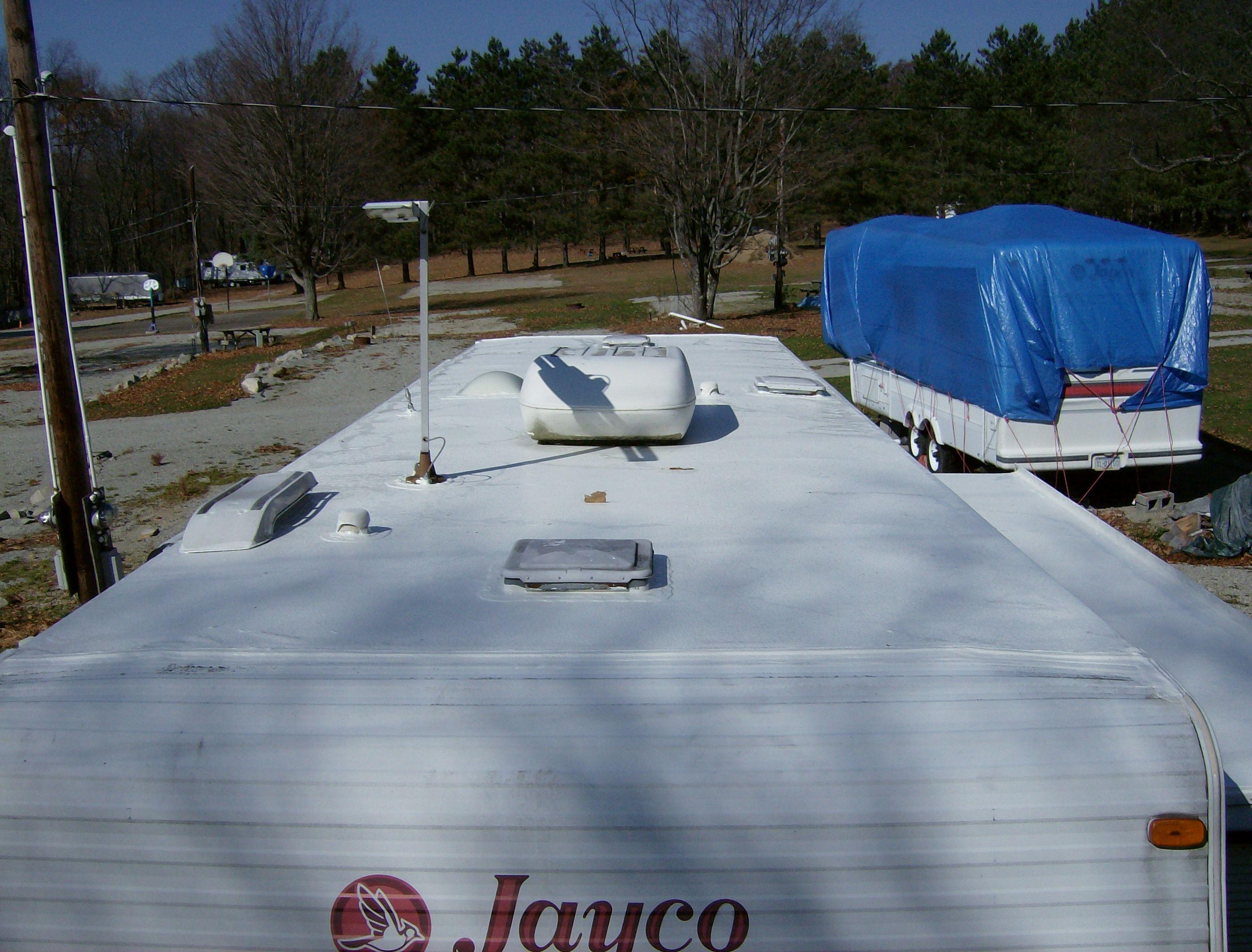 Picuter Before Applying Epdm Coatings Http Www Epdmcoatings Com Rv Roof Repair Html Roof Repair Rv Roof Repair Cool Roof