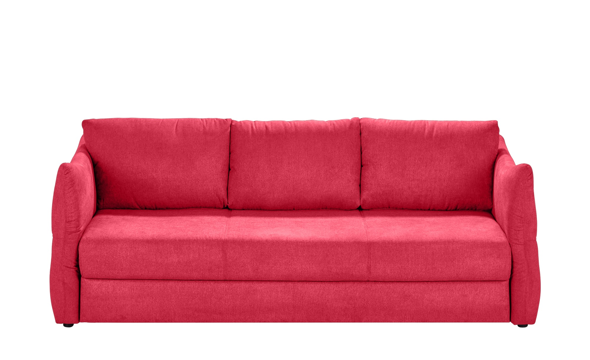 Smart Sofa 3 Sitzig Rot Webstoff Franziska Kunstleder Sofa Big Sofa Kaufen Und Sofa Design