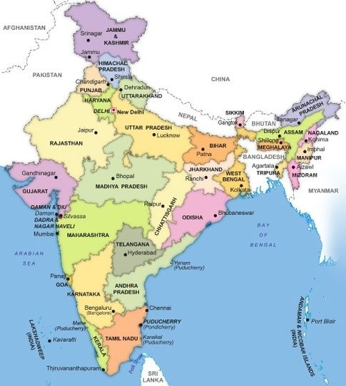 Scroll Down To The Answer On India To See The Vast Diversity Of