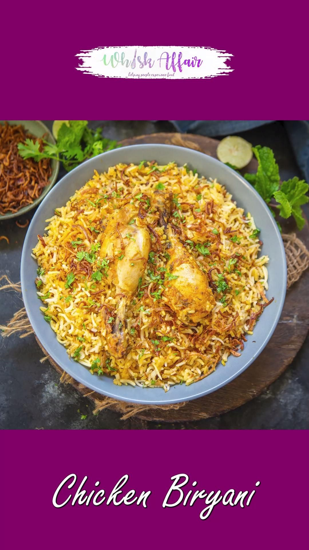 Chicken Biryani Video Recipe