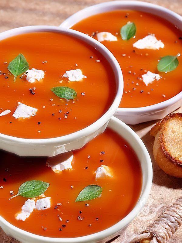 ricetta la zuppa di pomodoro per perdere peso