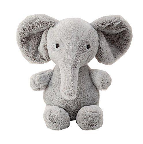 Baby Kids Toddler Stuffed Animals Soft Plush Toy Grey Elephant 25