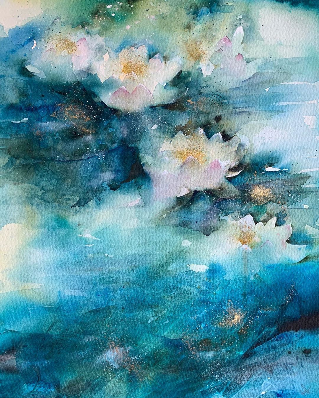 Jean Haines Watercolors On Instagram Quiet Relection