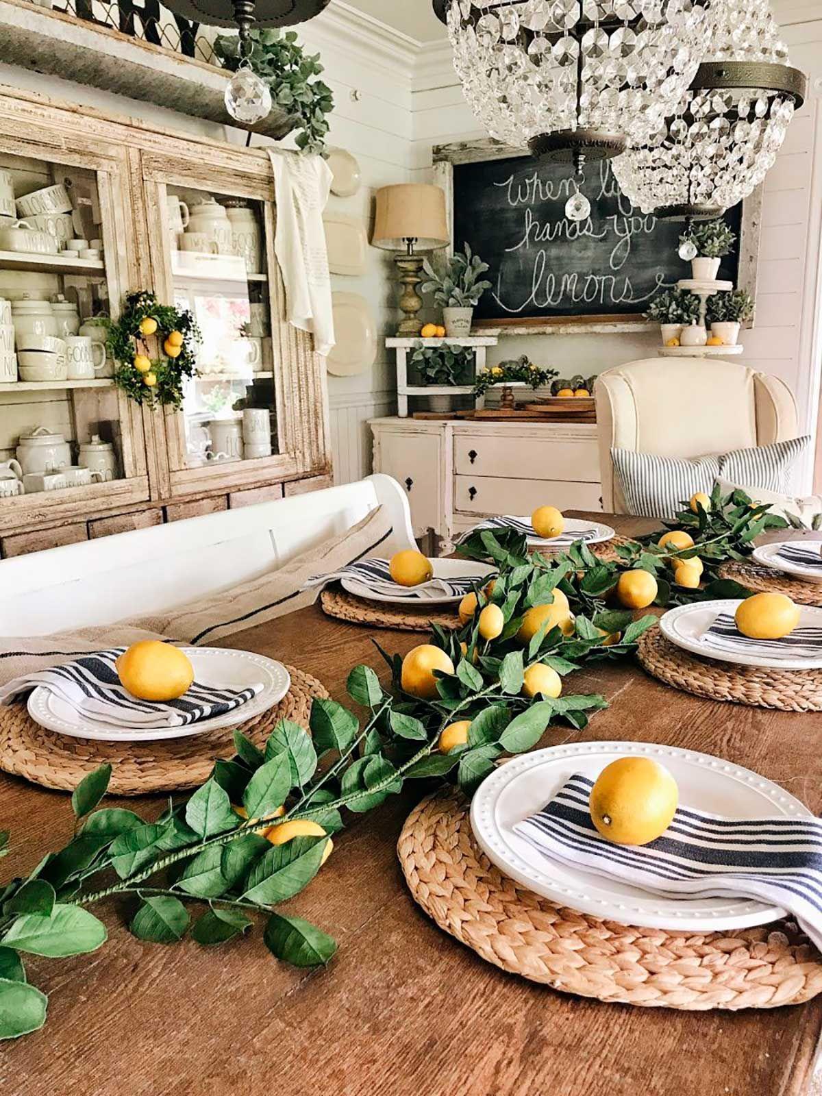 Almo o com lim es sicilianos pinterest decora o for Mobilia valentina