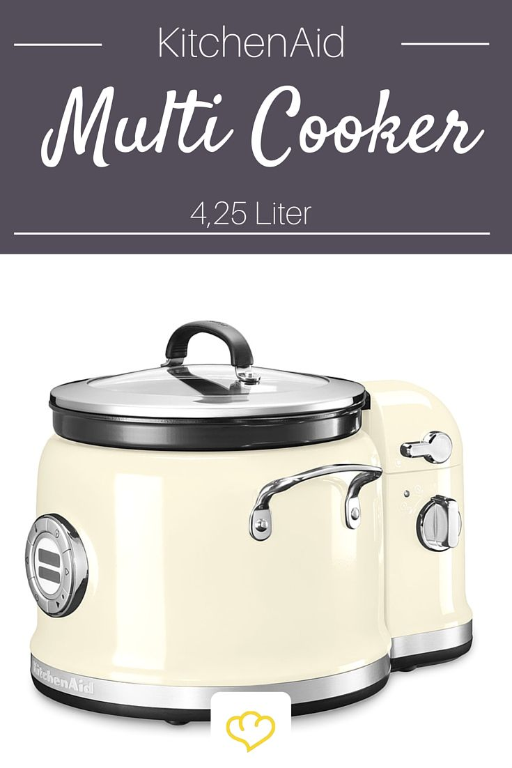 definitiv der sch nste slow cooker der multi cooker von kitchenaid im typischen retro design. Black Bedroom Furniture Sets. Home Design Ideas