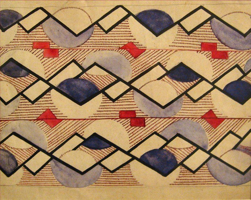 Bildresultat för olga rozanova suprematist pattern design
