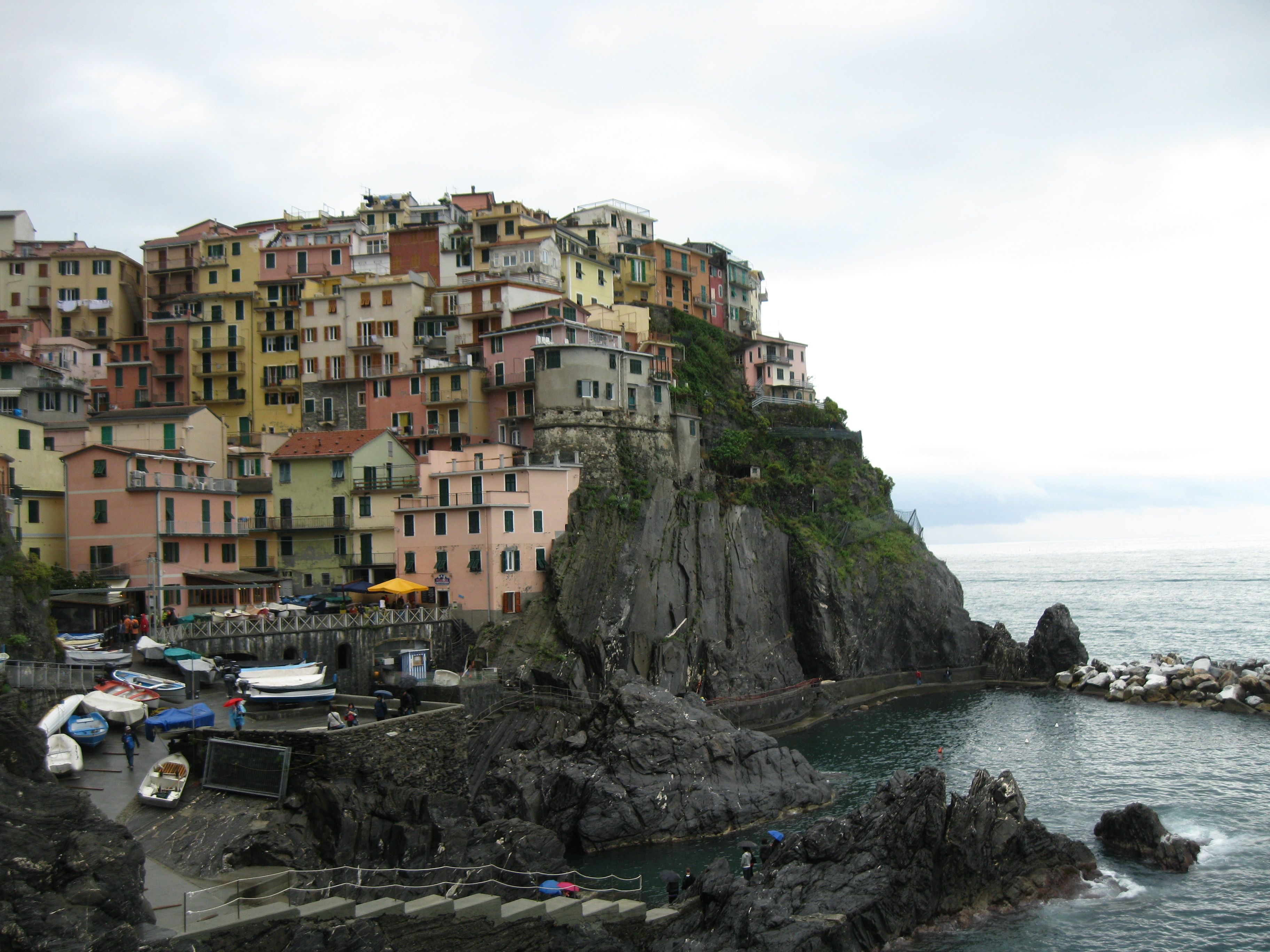 Cinque Terre Italy Emily Smedra Depauw University