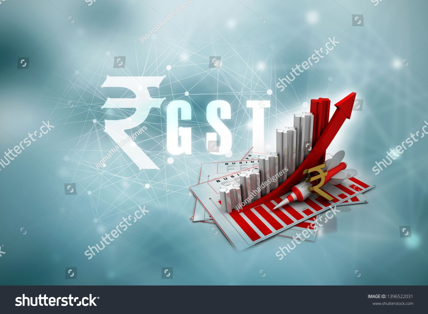 3d Rendering Stock Market Online Business Concept Business Graph With Indian Rupee Sign Spon Online Business Marketing Business Stock Images Online Marketing