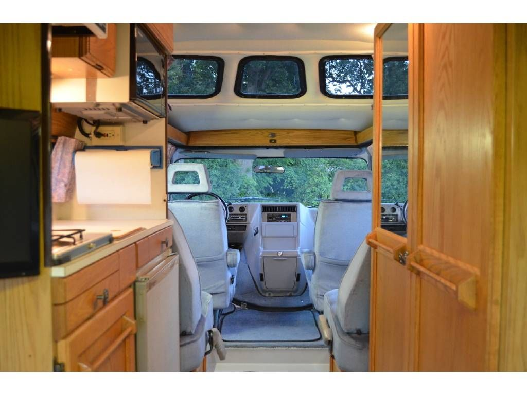 1995 Roadtrek 190 Popular Waukegan Il Rvtrader Com Custom Van Interior Roadtrek Van Dwelling