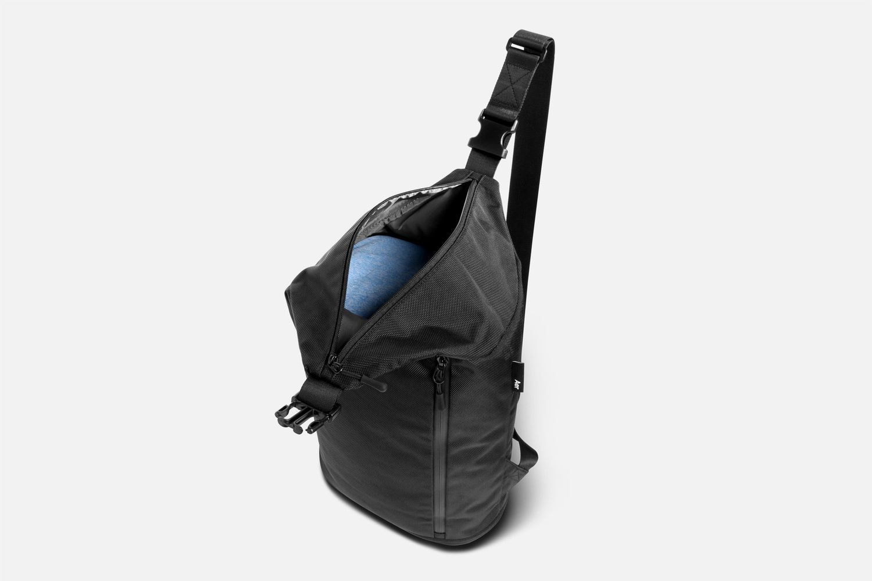 43ea9dd9b408 The Gym Sling Bag in nylon - Sailsmith Bags