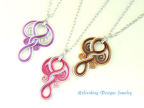 LORIEN - Gorgeous Elven Necklace | Drahtschmuck, Draht und Draht arbeit