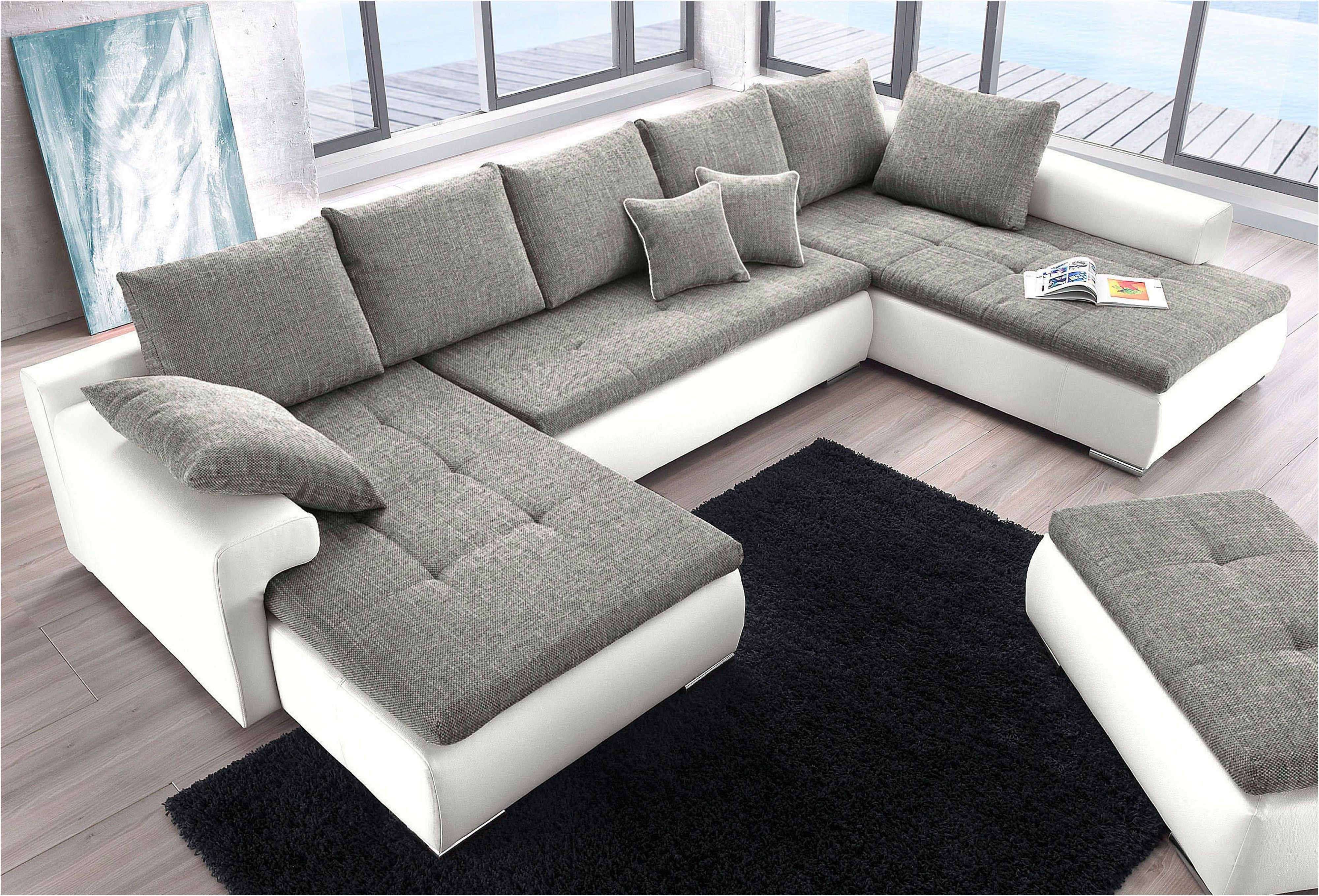 Exklusiv Sofa 3 2 1 Mit Schlaffunktion In 2020 Living Room Sofa Set Modern Sofa Designs Corner Sofa Design