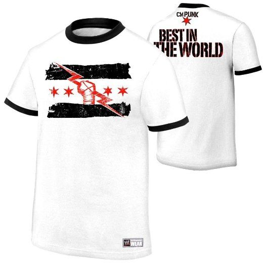 WWE CM Punk Best in the World Authentic T Shirt SIZE MEDIUM