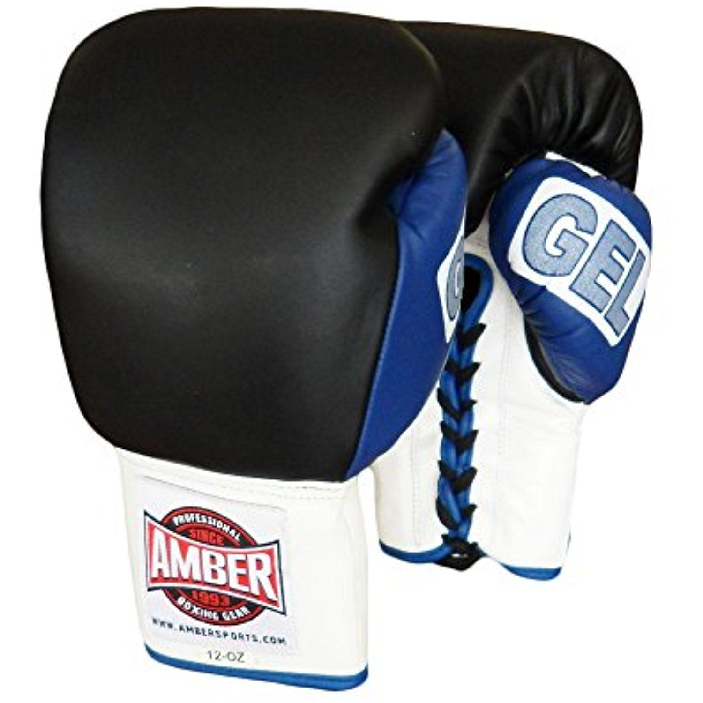 Amber Fight Gear Gel Training Gloves Hook /& Loop 12 oz