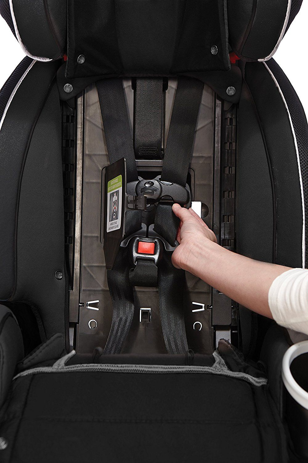 Award winning category for safety features car seats