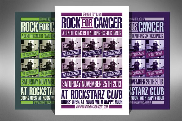 Check out Charity Event Flyer - 2 Sizes! by ultimatebundles on - benefit flyer template