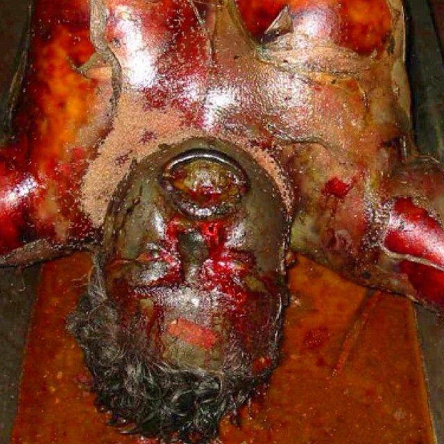 D. Drowning: 2004 Indian Ocean Tsunami victim. Drowning ...