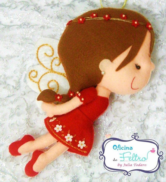 felt fairy |Oficina Do Feltro