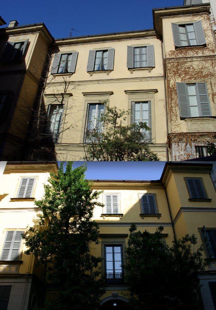 Historic palace in Milan - Italy.  Work by Fabio Carria architect. Palazzo iCorso Venezia 42.